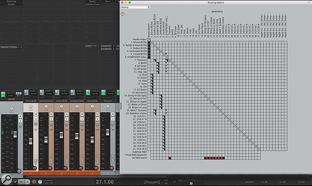 Reaper's routing matrix.