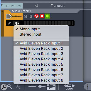 1. Most guitar input sources are mono, but if you're coming in via a processor like Eleven Rack you might need to switch to stereo.