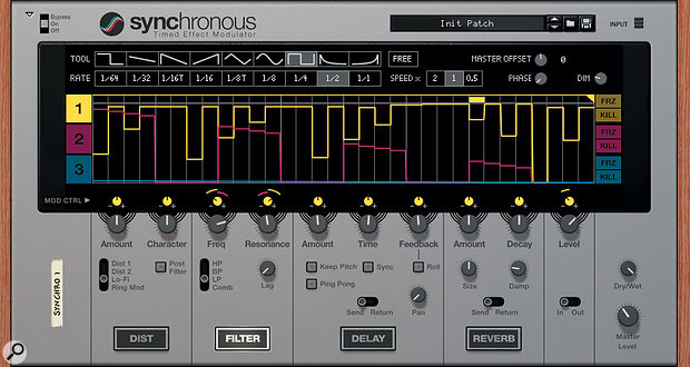 Synchronous is a rhythmic multi-effects processor which, until the end of June, is completely free to download.