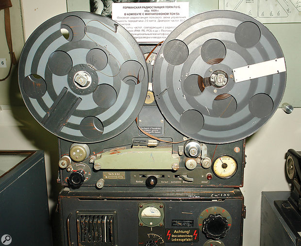 The Magnetophon introduced tape-based recording, which was a  significant improvement on what had gone before.