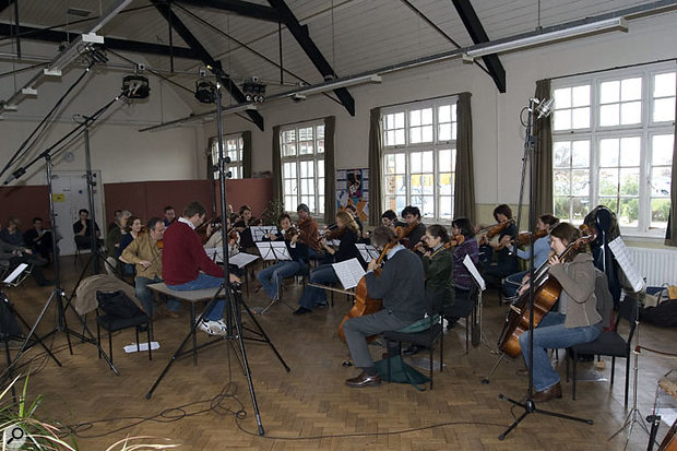 Recording A String Section