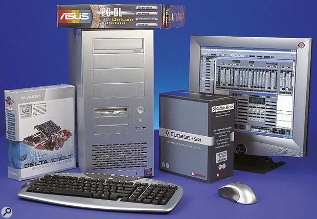Red Submarine Dual Xeon PC