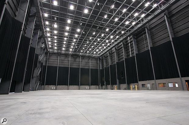 Rock Lititz's 30,000-square-foot main rehearsal studio.