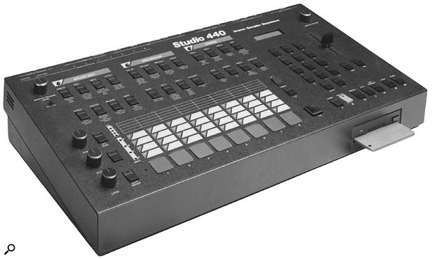 1987's Studio 440 multitimbral sampling drum machine/sequencer.