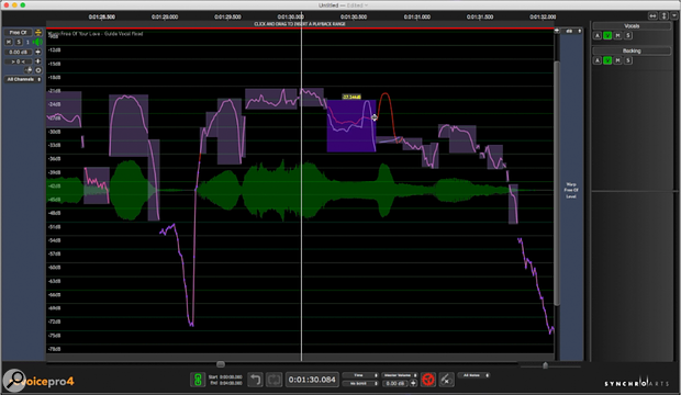 Synchro Arts Revoice Pro 4.0 Pitch Processing.