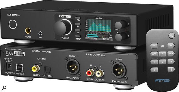 RME ADI-2 Stereo D-A converter.