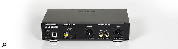 The digital inputs allow the ADI‑2 DAC to function not only as a D‑A converter for playback from computer systems, but also as an audio interface for digital sources.