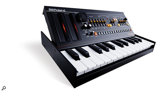 The VP-03 with optional K-25m keyboard enclosure.