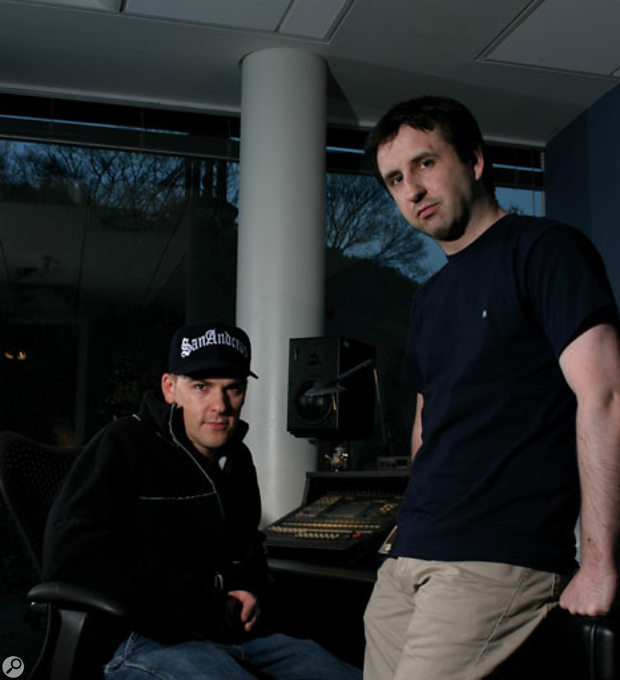 Craig Connor (left) and Allan Walker (right) of Rockstar Games.