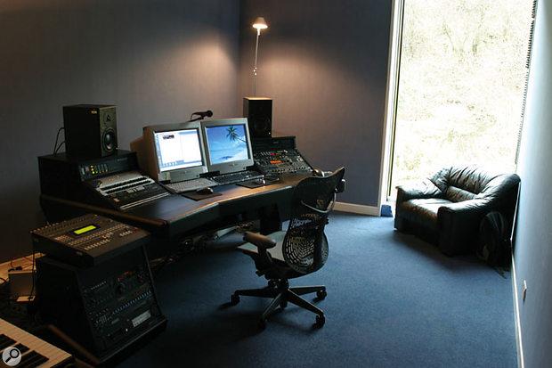 Craig Connor's studio at Rockstar North.