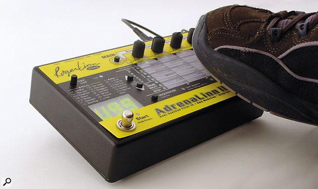 Roger Linn AdrenaLinn II footswitch control.