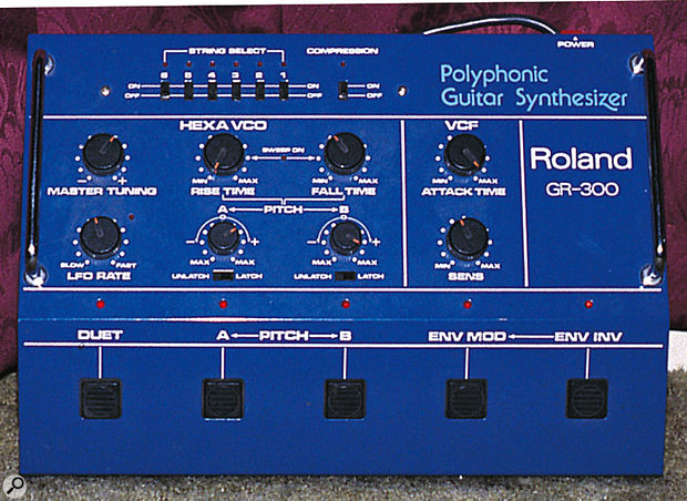 1979's replacement for the original GR500 guitar synth, the GR300.