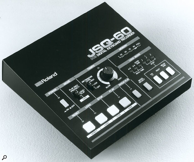 The company's first non-CV/Gate hardware sequencer, the JSQ60, was, as the name suggests, designed to interface with the Juno 60 via that synth's DCB connector.
