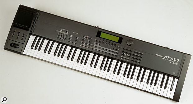 With a built-in MC-style sequencer, JV1080 synth engine (including effects) and 76-note keyboard, the XP80 was a fine successor to the JV1000 workstation.