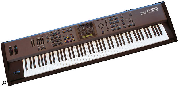 1996's A90, one of Roland's finest controller keyboards.