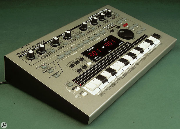 Roland said they'd never re-introduce the TB303, as it was too expensive to mass-produce its all-analogue design in the mid-'90s — but eventually they did concede and produce a digital version, the MC303, to great success.