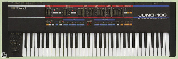 Due to strong sales on its release, many Juno 106 synths are still in use in studios today.