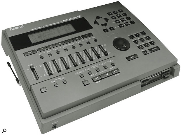 The MV30 Studio M was an early example of a sequencing workstation, combining MC-style sequencing facilities with a U-series sample-based sound engine.