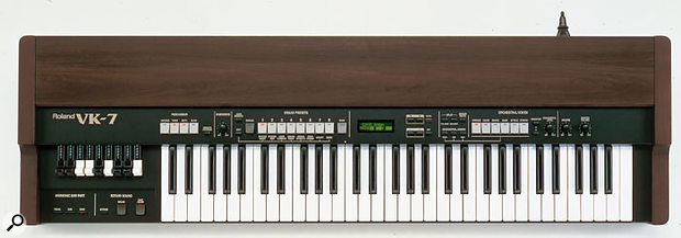 1997's VK7 was Roland's best tonewheel organ emulation to date.