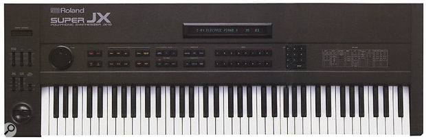 Roland's last great synth to incorporate analogue technology, the Super JX10.