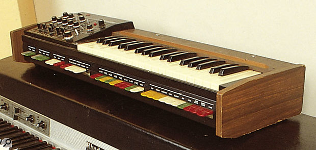 The first Roland synth, the monophonic SH1000.
