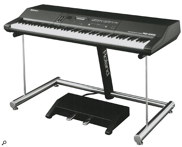 The RD1000 was a big breakthrough in the acceptance of digital piano technology. Even Elton John used one live on stage.