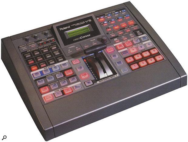 Edirol V5 video mixer.