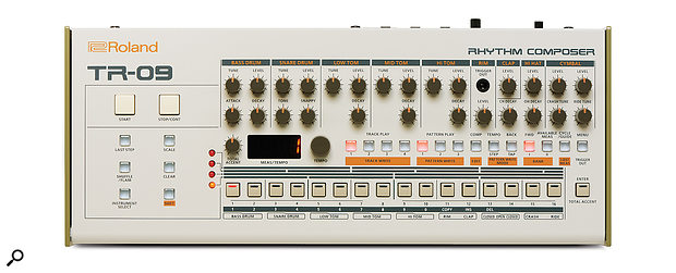 The TR-09 captures the feel of the original but at a fraction of the size.