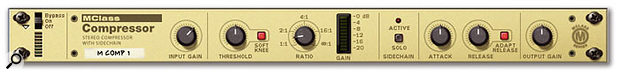Although this device is better as a general-purpose compressor, a little touch of MClass compression brings the mix together and adds a bit of punch at the mastering stage.