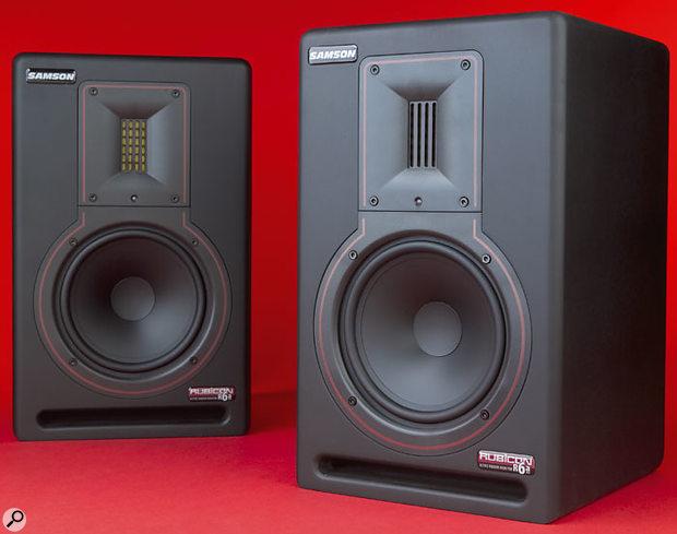The Samson Rubicon 6A monitors.