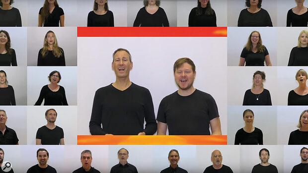 Remote Vocal-Ensemble Production