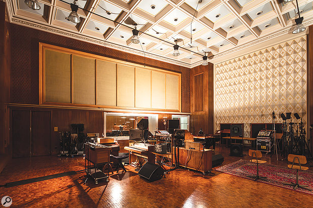 Saal 3's impressive live room was originally designed for recording chamber ensembles.