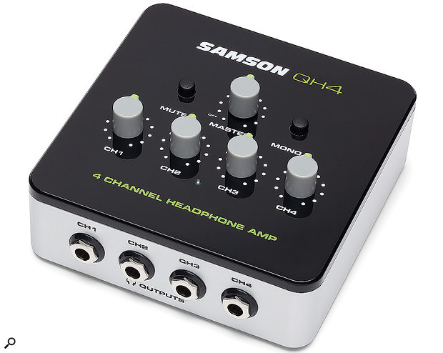 Samson QH4 Headphone Amplifier