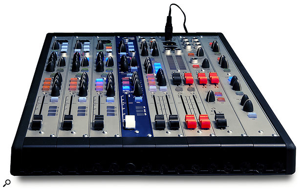 Possible configurations range from small consoles, like this, to 80-module behemoths!