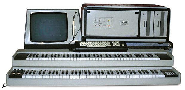 The groundbreaking Fairlight CMI.