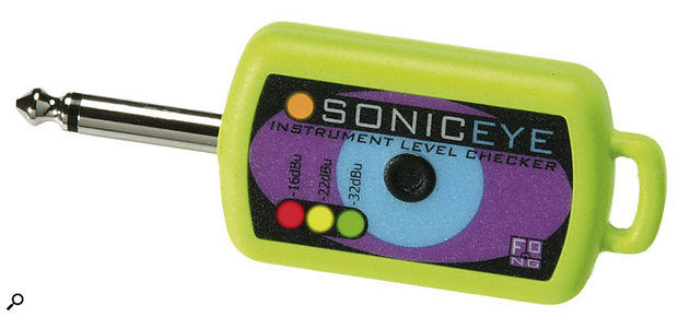 Fong Electronic Sonic Eye instrument level checker.