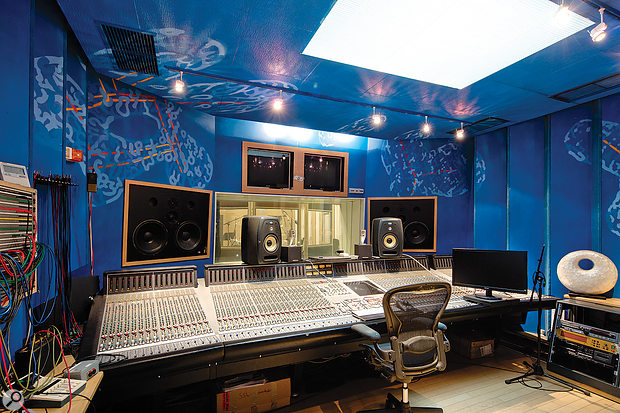 The control room in Studio 1 is based around an SSL J-series console.