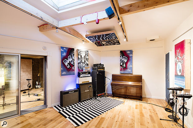 The main live room was remodelled in 2008 for a livelier, more ambient sound.