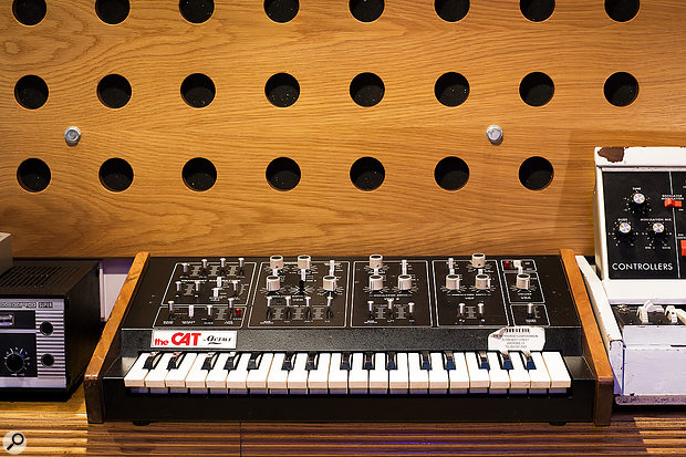 The Octave Cat synthesizer.