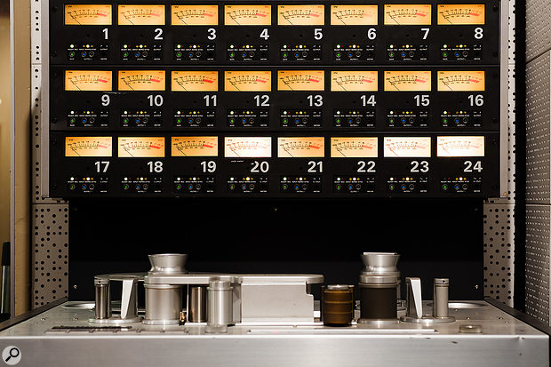 24-track Studer A800 MkIII tape machine.