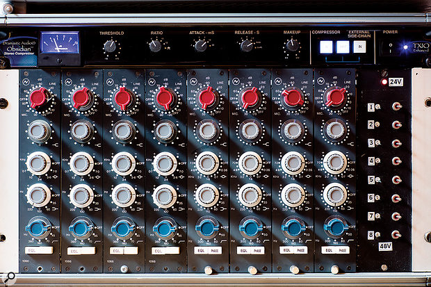 Classic Neve 1066 and 1073 preamps.