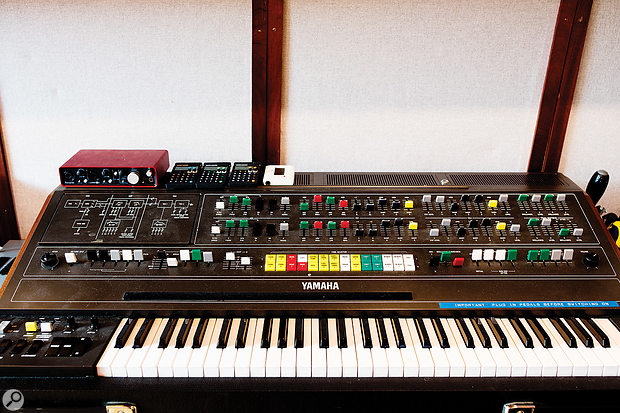 One of the most desirable pieces of equipment at Grand Cru is the Yamaha CS80 analogue polysynth.