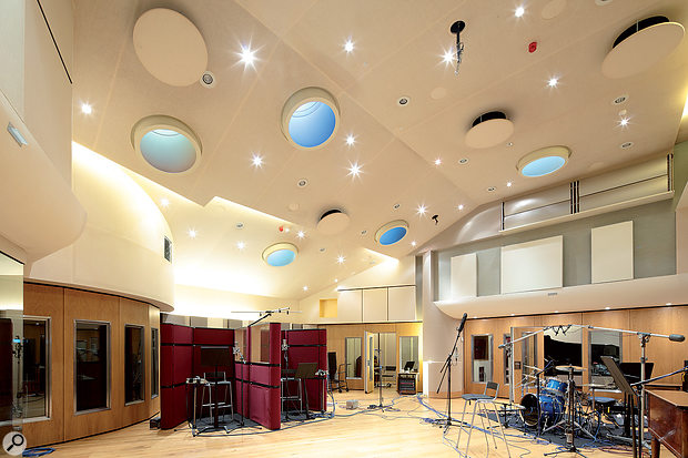 British Grove Studios' double-height live area.