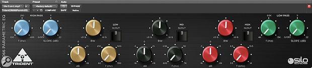 Silo SoundLabs CB9066 EQ plug-in.