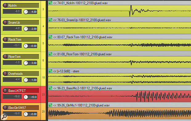 Guitar timing edit out.