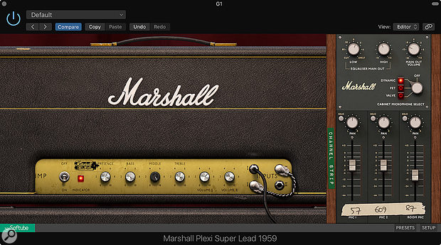 Softube Marshall Plexi Super Lead 1959