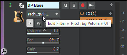 Hover the cursor over the Edit Filter, and you'll see the unabbreviated version of the automation parameter's name.