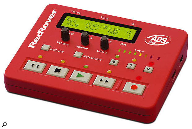 Red Rover, although originally designed for Cool Edit Pro, is now supported as a control surface within Sonar.