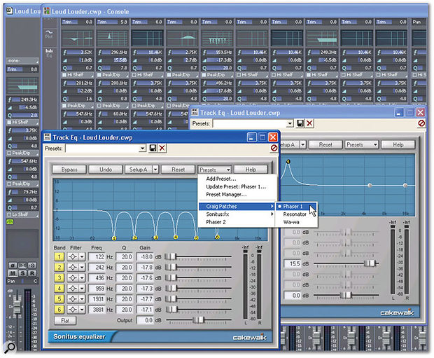 Making The Most Of EQ In Sonar v4