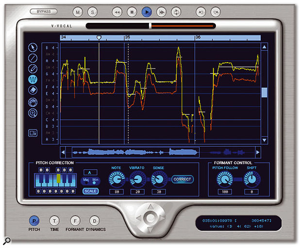 V-Voice puts Roland's Variphrase technology into a plug-in.